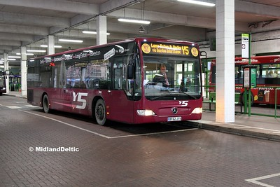 Your Bus 3019, Broad Marsh Bus Station Nottingham, 03-01-2017