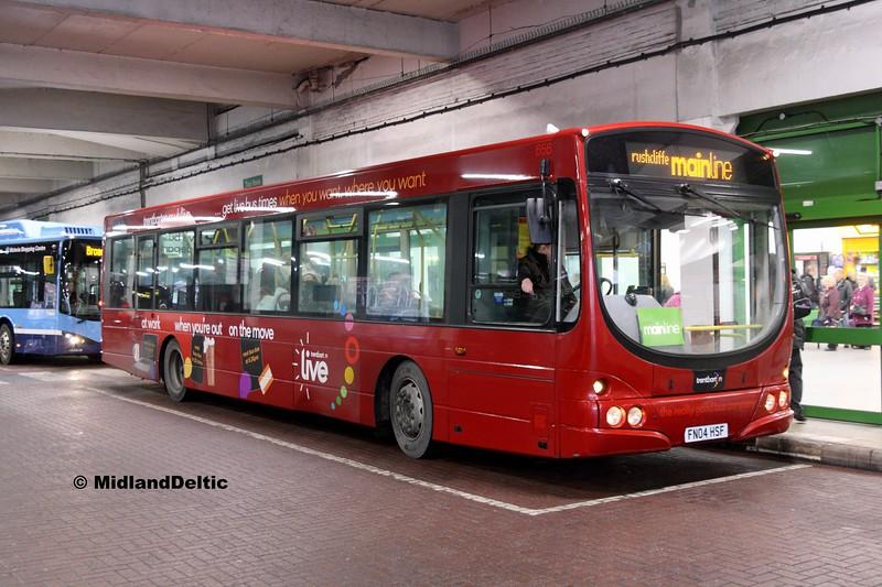 TrentBarton 656, Broad Marsh Bus Station Nottingham, 03-01-2017