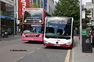 NCT 753, Your Bus 3103, Milton St Nottingham, 04-08-2016