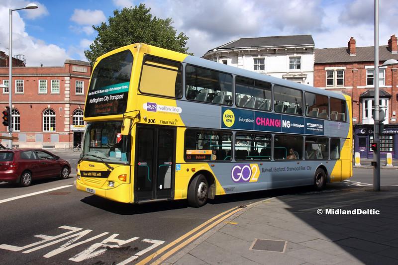 NCT 906, South Sherwood St Nottingham, 13-08-2018