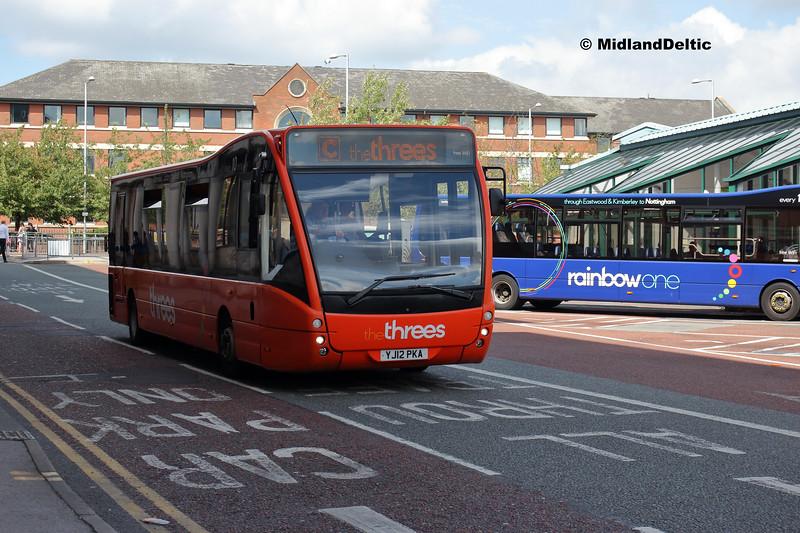 TrentBarton 820, Victoria Bus Station  Nottingham, 13-08-2018