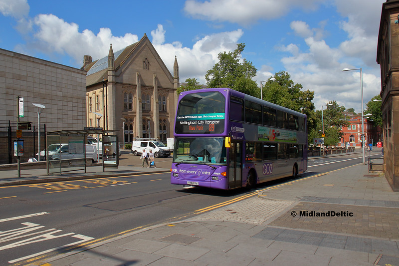 NCT 932, South Sherwood St Nottingham, 13-08-2018