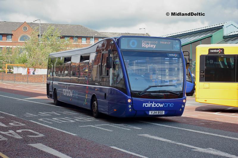 TrentBarton 850, Victoria Bus Station  Nottingham, 13-08-2018