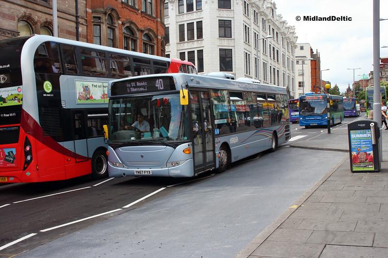 NCT 306, Upper Parliament St Nottingham, 13-08-2018