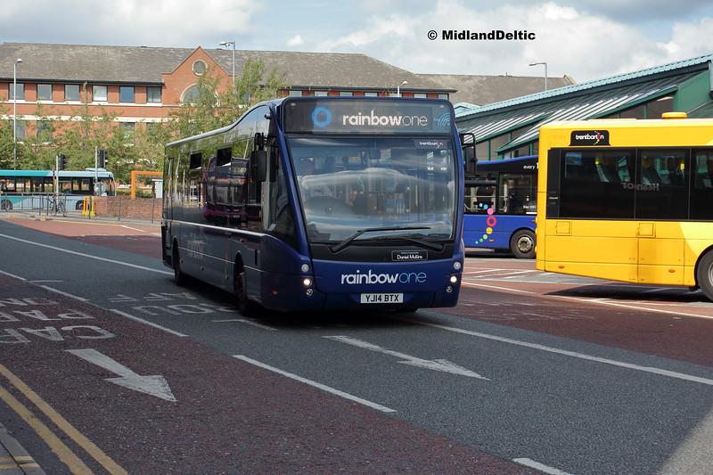 TrentBarton 841, Victoria Bus Station  Nottingham, 13-08-2018