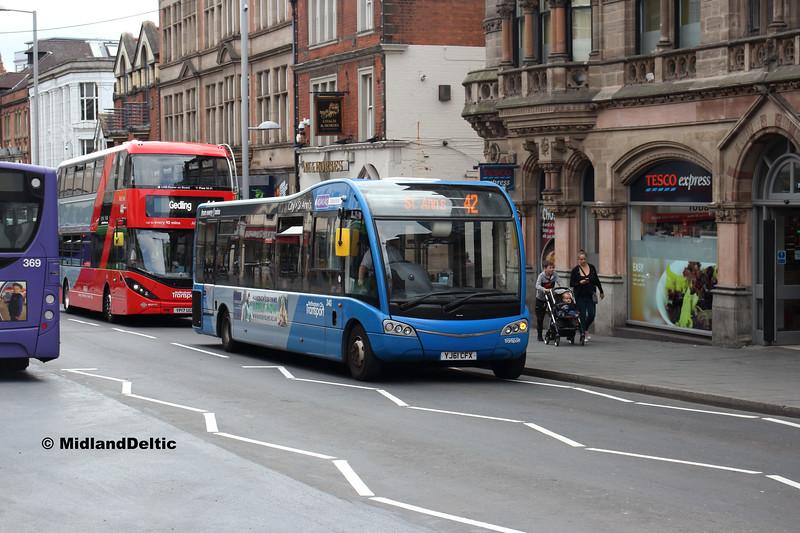NCT 340, Upper Parliament St Nottingham, 13-08-2018