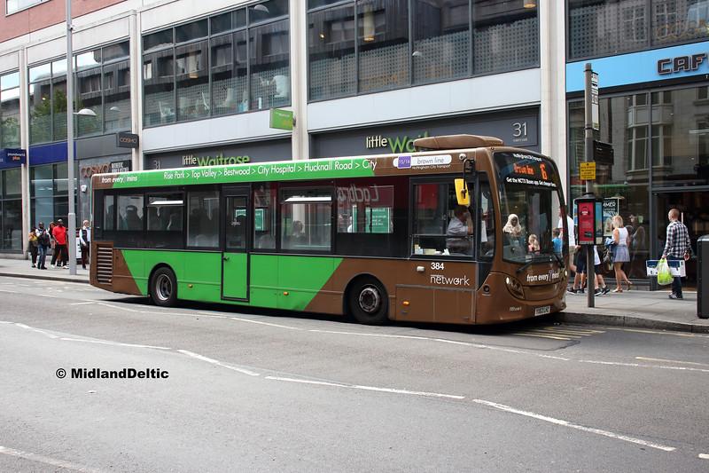 NCT 384, Milton St Nottingham, 13-08-2018