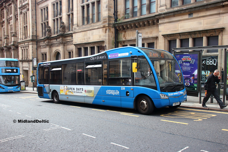 NCT 339, Queen St Nottingham, 13-08-2018
