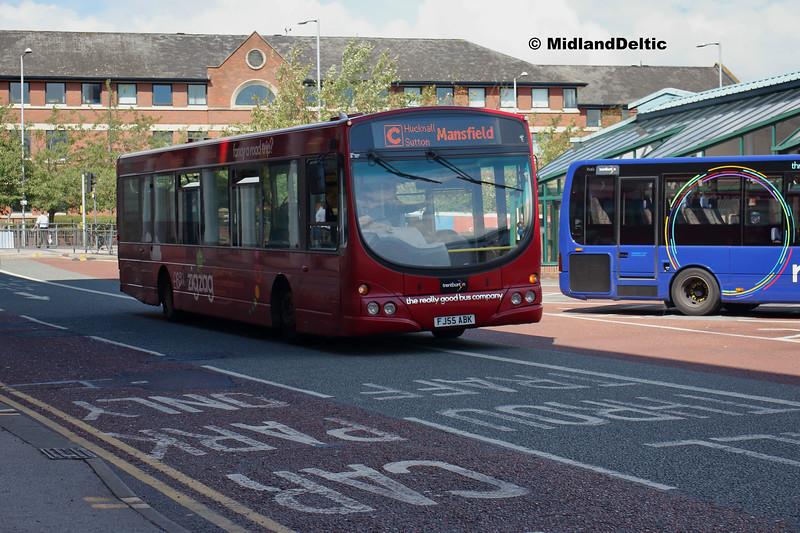 TrentBarton 681, Victoria Bus Station  Nottingham, 13-08-2018