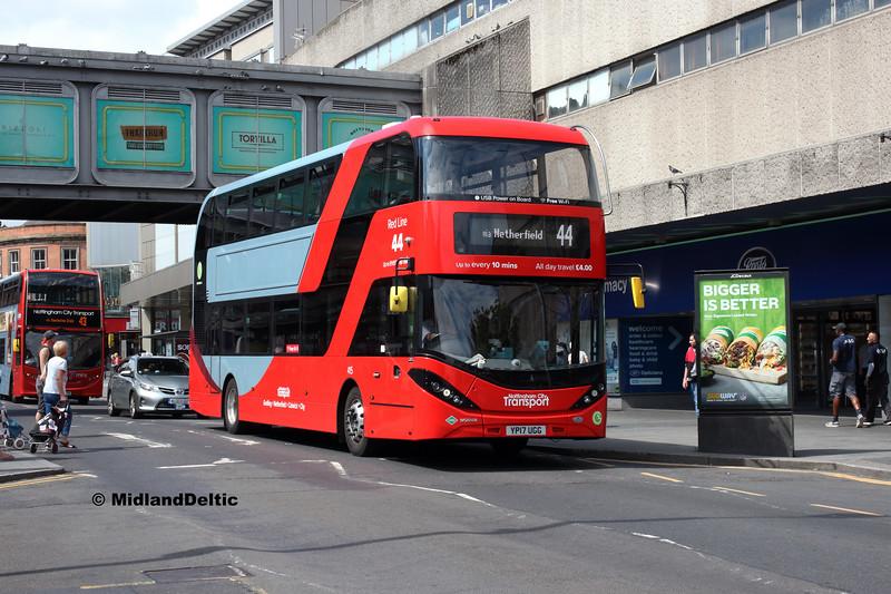 NCT 415, Upper Parliament St Nottingham, 13-08-2018