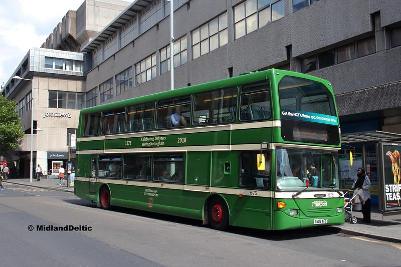 NCT 676, Milton St Nottingham, 13-08-2018