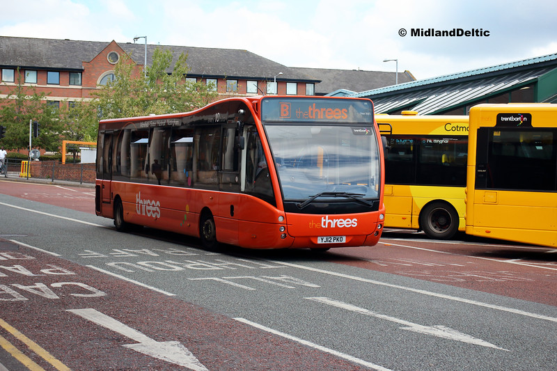 TrentBarton 826, Victoria Bus Station  Nottingham, 13-08-2018
