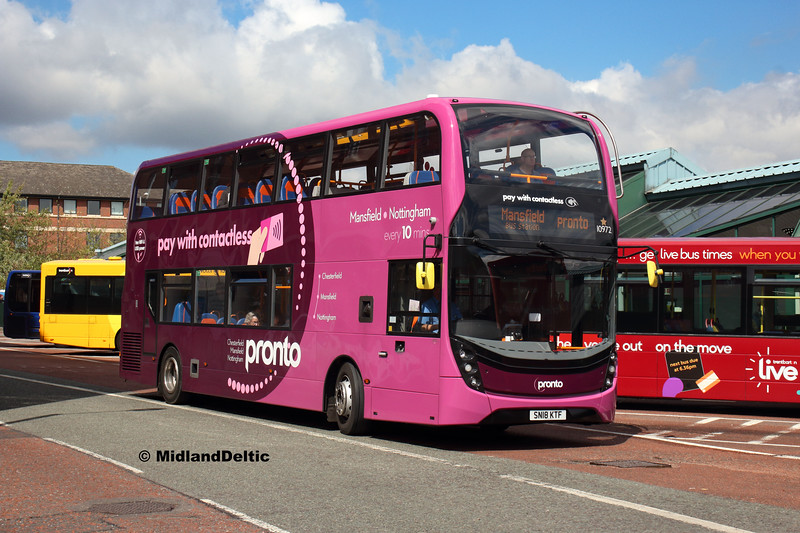 Victoria Bus Station  Stagecoach 10972, Victoria Bus Station Nottingham, 13-08-2018
