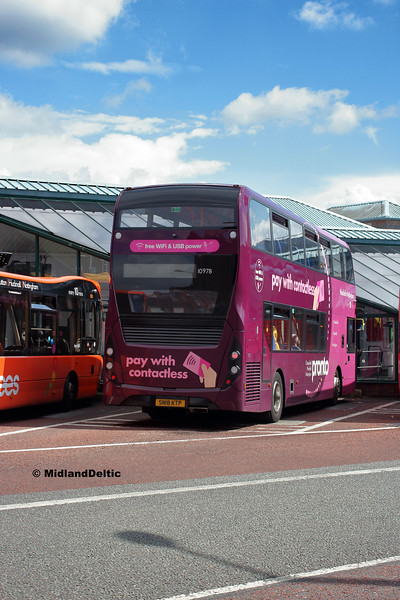 Stagecoach 10978, Victoria Bus Station  Nottingham, 13-08-2018