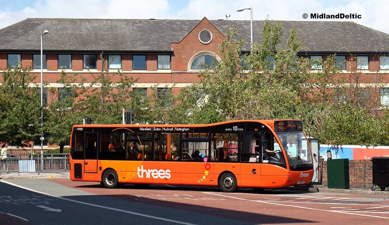 TrentBarton 814, Victoria Bus Station  Nottingham, 13-08-2018