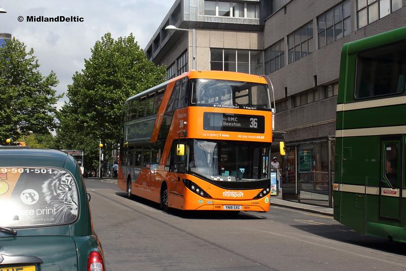 NCT 448, Milton St Nottingham, 13-08-2018
