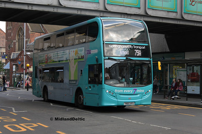 NCT 658, Upper Parliament St Nottingham, 25-07-2017