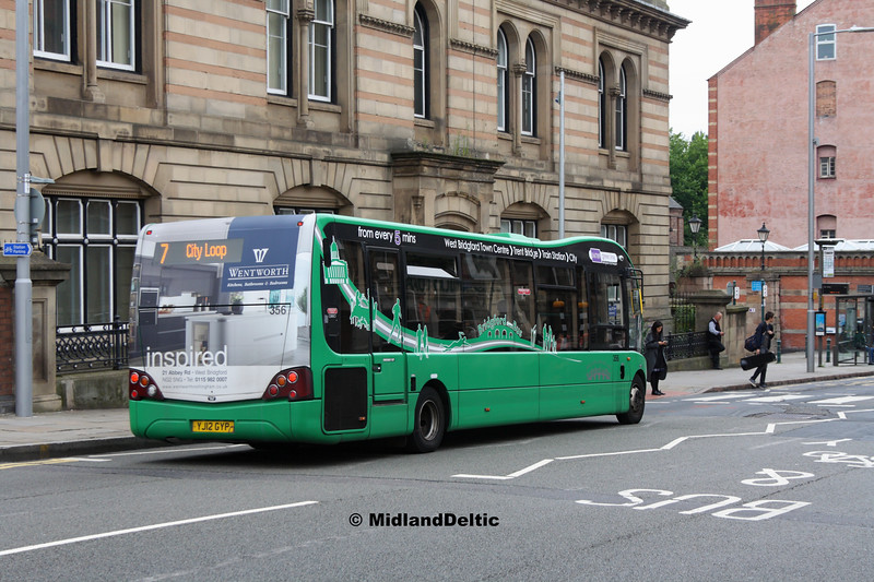 NCT 356, Carrington St Nottingham, 25-07-2017