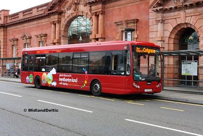 TrentBarton 312, Carrington St Nottingham, 25-07-2017