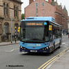 Nottingham Community Transport 978, Carrington St Nottingham, 25-07-2017