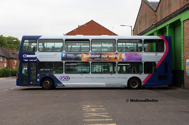 NCT 695, Bunbury St Nottingham, 25-07-2017