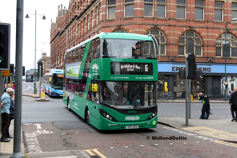 NCT 402, Carrington St Nottingham, 25-07-2017