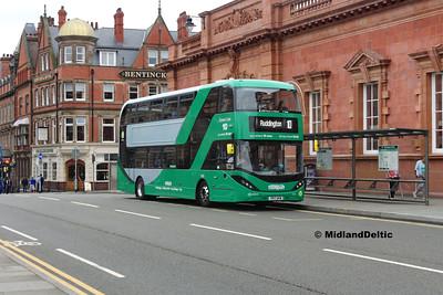 NCT Biogas Buses