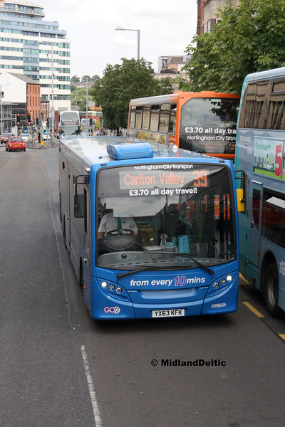 NCT 395, Upper Parliament St Nottingham, 29-07-2017
