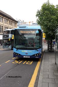 Nottm Community Transport 981, Upper Parliament St Nottingham, 29-07-2017