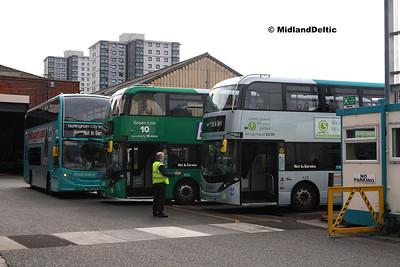 NCT 659, 406, 428,  Parliament St Garage Nottingham, 29-07-2017