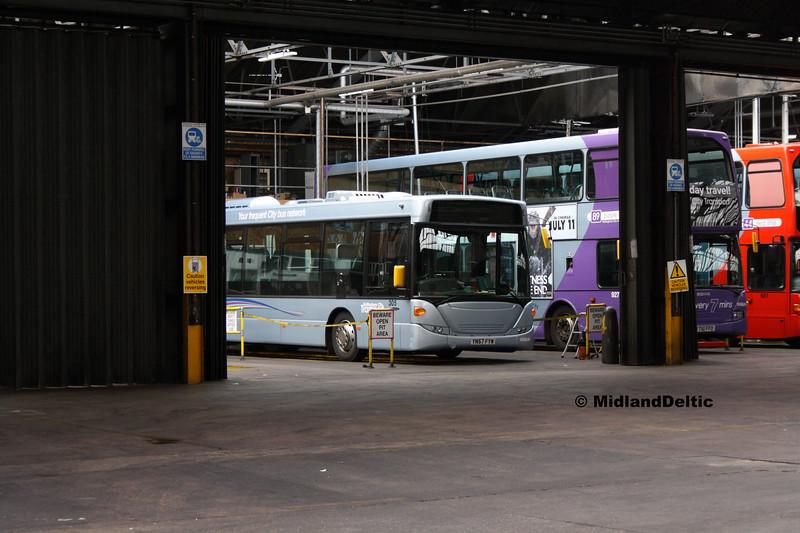 NCT 305, Parliament St Garage Nottingham 29-07-2017
