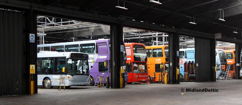 NCT Lineup, Parliament St Garage Nottingham, 29-07-2017