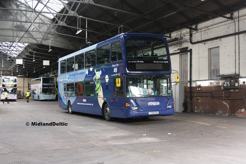 NCT 973, Parliament St Garage Nottingham,