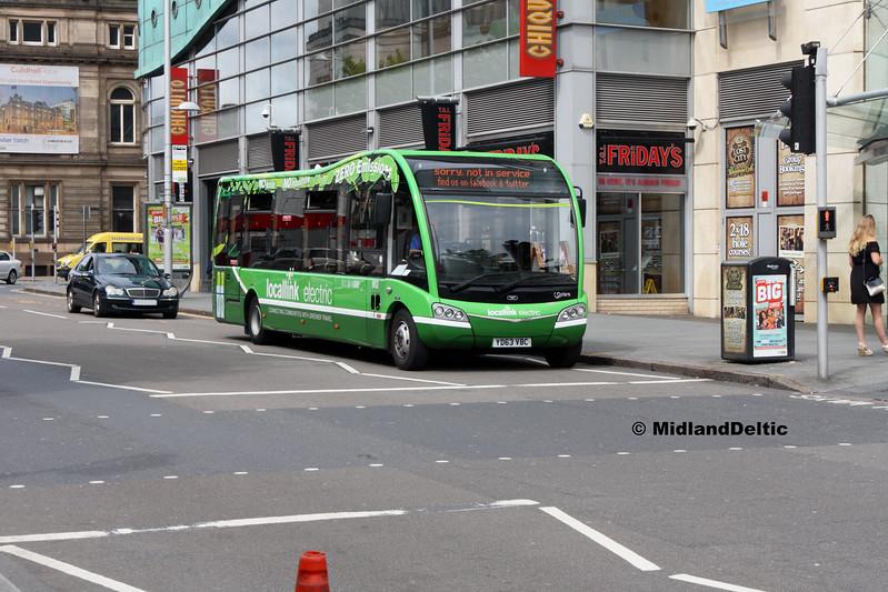 Nottingham Community Transport 952, South Sherwood St Nottingham 29-07-2017