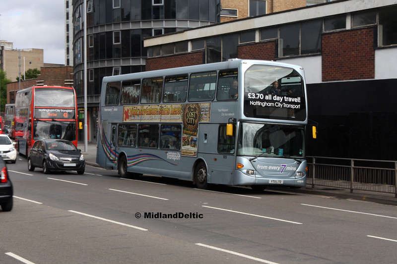 NCT 905, Lower Parliament St Nottingham, 29-07-2017