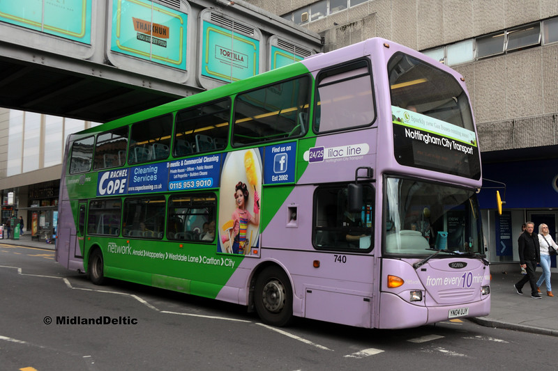 NCT 740, Upper Parliament St Nottingham, 29-07-2017