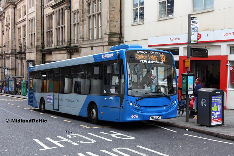 NCT 396, Queen St Nottingham, 29-07-2017