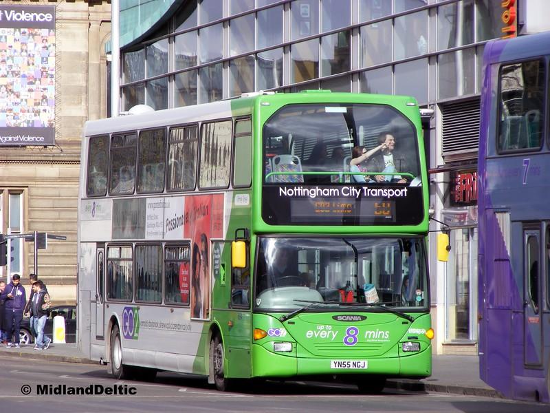 NCT 694, South Sherwood St Nottingham, 22-02-2014