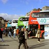 NCT Buses on Display, Old Market Square Nottingham, 22-02-2014
