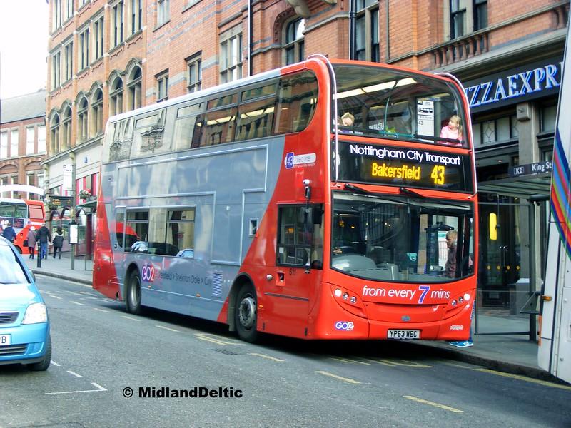 NCT 611, King St Nottingham, 22-02-2014