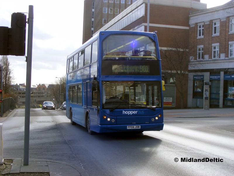 NCT 771, Maid Marian Way Nottingham, 22-02-2014