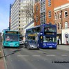 TrentBarton 438, NCT 967, Maid Marian Way Nottingham, 22-02-2014