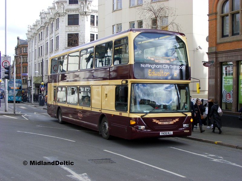 NCT 955, Upper Parliament St Nottingham, 22-02-2014