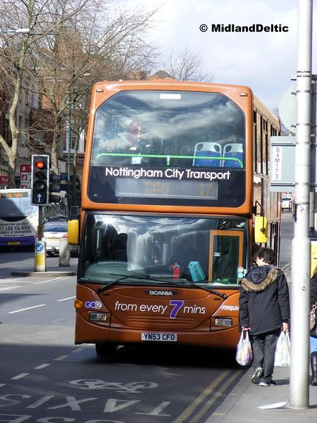 NCT 723, Mansfield Rd Nottingham, 22-02-2014