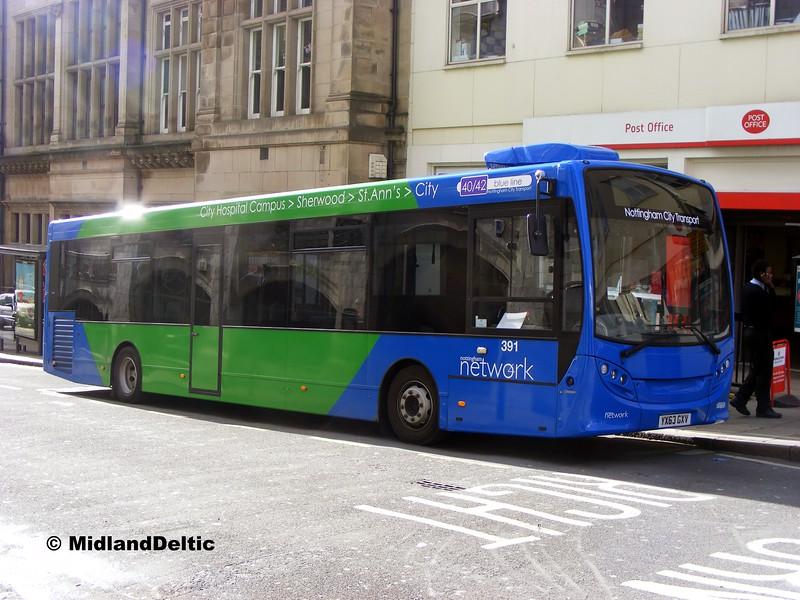 NCT 391, Queen St Nottingham, 22-02-2014