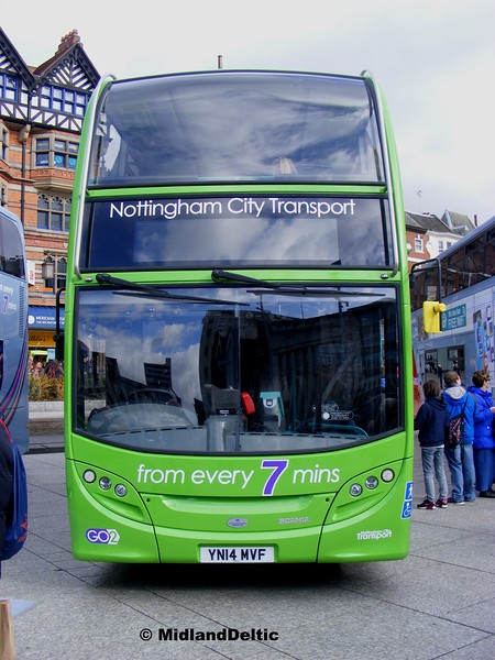 NCT 634, Old Market Square Nottingham, 22-02-2014