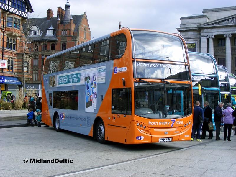 NCT 627, Old Market Square Nottingham, 22-02-2014