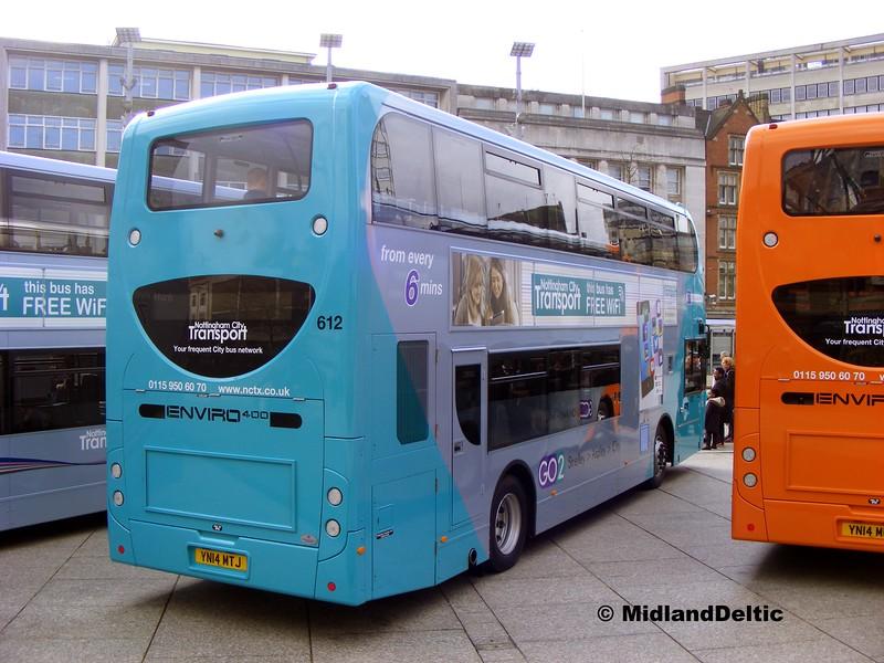 NCT 612, Old Market Square Nottingham, 22-02-2014