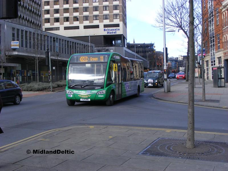NCT 334, Maid Marian Way Nottingham, 22-02-2014