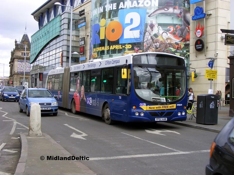 NCT 705, South Sherwood St Nottingham, 22-02-2014
